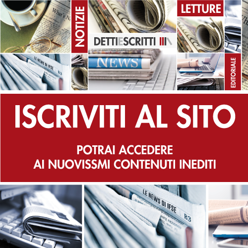 detti e scritti